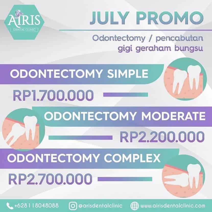 Promo Airis Dental Clinic July